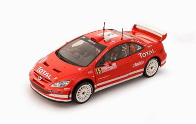 SCALA: 1:18 – SUN STAR– MOD.:PEUGEOT 307 WRC– Colore:Racing