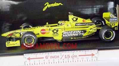 SCALA: 1:18 - HOT WHEELS - MOD.: JORDAN E J10 Jarno Trulli - Colore: Racing