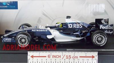 SCALA: 1:18 - HOT WHEELS - MOD.: WILLIAMS FW28 Nico Rosberg - Colore: Racing