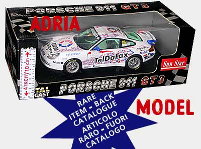 SCALA: 1:18 - SUN STAR - MOD.: PORSCHE 911gt3 n°25 - Colore: Racing