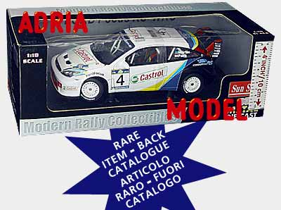 SCALA: 1:18 - SUN STAR - MOD.: FORD Focus rs wrc acropolis 2003 - Colore: Racing