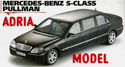 SCALA: 1:18 - SUN STAR - MOD.: MERCEDES Benz S-Class Pulman - Colore: Nero
