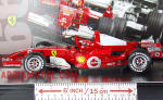 SCALA: 1:18 - HOT WHEELS - MOD.: FERRARI F1 23-04-2006 99 Pole Position - Colore: Racing