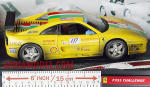 SCALA: 1:18 - HOT WHEELS - MOD.: FERRARI 355 challenge - Colore: Racing