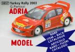 SCALA: 1:18 - SUN STAR - MOD.: PEUGEOT 206 wrc n°21 rally turkey 2001 panizzi - Colore: Racing