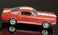 SCALA: 1:18 - UNIVERSAL H. - MOD.: FORD MUSTANG 350 GT SHELBY 1966 - Colore:Rosso-Bianco