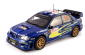 DCM18-SS-4384 SCALA: 1:18 - SUNSTAR - MOD.: SUBARU IMPREZA WRC - T.Arai / T.Sircombe Rally Japan 2006 Colore Blu-Rally
