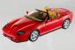 SCALA: 1:18 – HOT WHEELS – MOD.: FERRARI 550 BARCHETTA PININFARINA – Colore: ROSSA