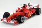 SCALA: 1:18 - HOT WHEELS - MOD.: FERRARI F2004 MICHAEL SCHUMACHER GP BELGIO - Colore: ROSSO